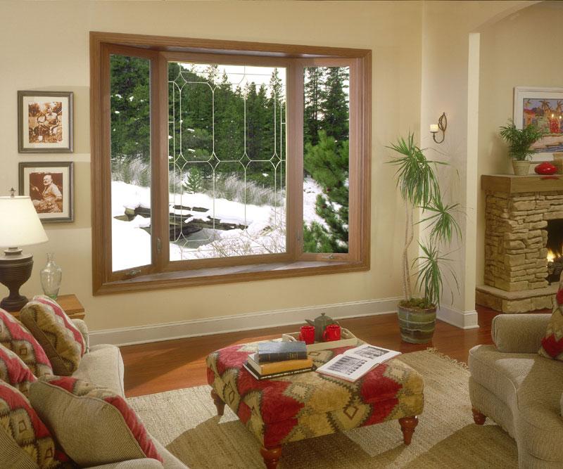 Bay Window in Family Room